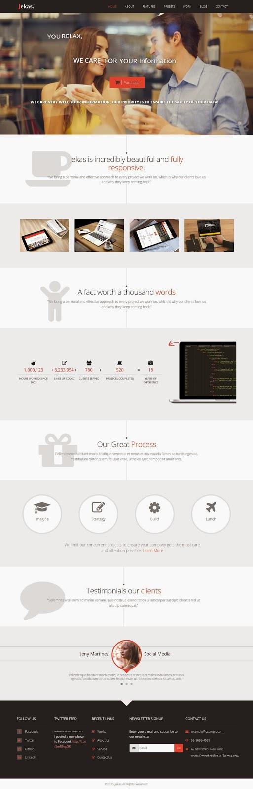 Multipurpose Premium Joomla Template 2015