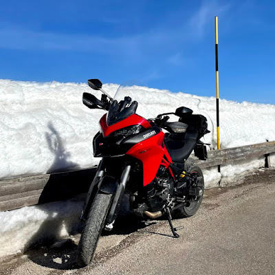 Giri in moto in inverno