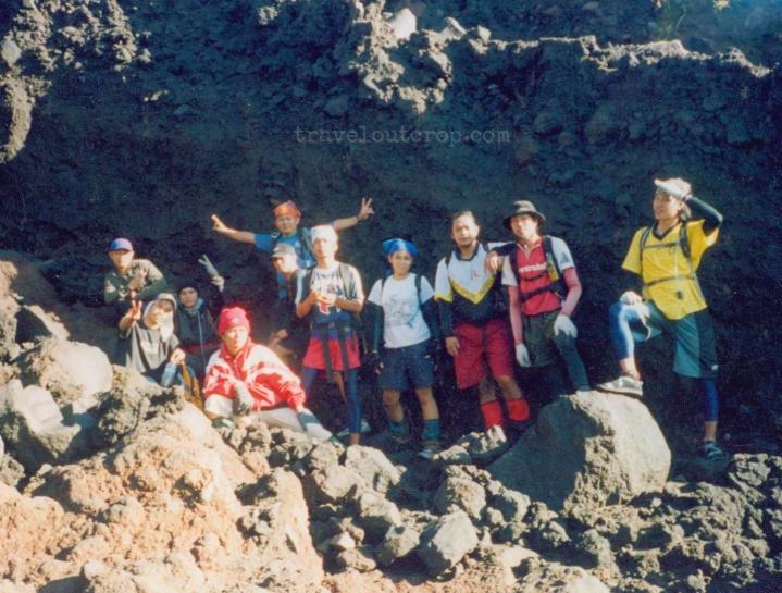 Mayon, volcanic rock