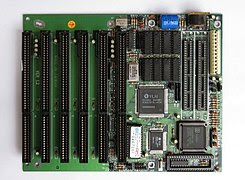 80286 Baby-AT-Motherboard (1988)