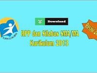 RPP dan Silabus KK 2013 SMA Revisi 2017