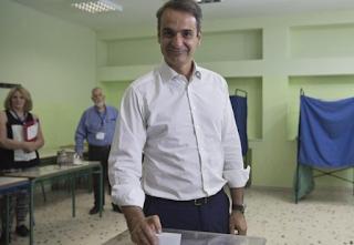 Ένταση στο εκλογικό κέντρο όπου ψηφίζει ο Κυριάκος - ΒΙΝΤΕΟ