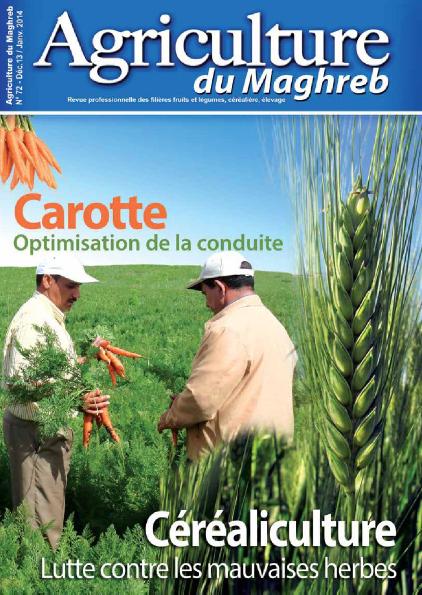 المجلة الزراعية المغربية العدد 72    Agriculture du maghreb