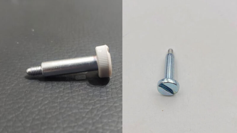 New screws with a grippy texture