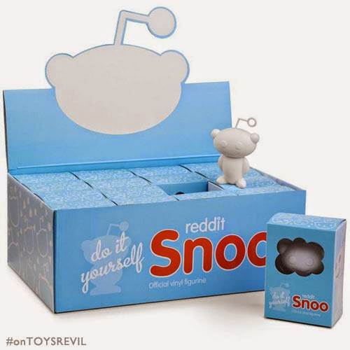 reddit Snoo Vinyl Toy: Regular & DIY Editions