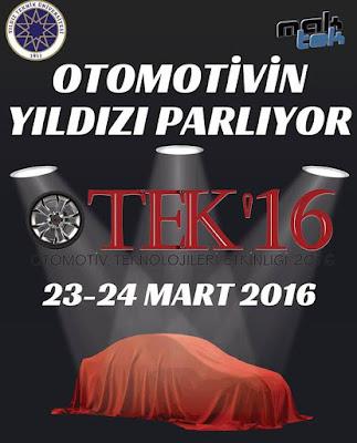 Otomotivin yıldızları OTEK 16 da