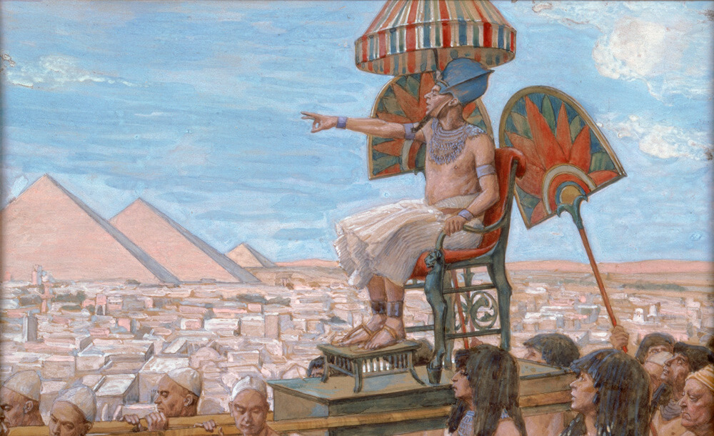 Ilustrasi Raja Mesir. Foto via Wawasansejarah.com