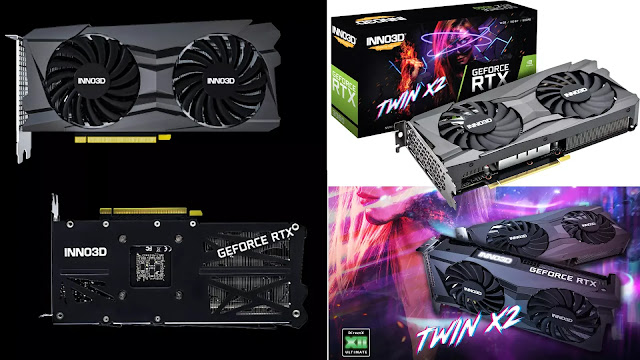 Inno3D-GeForce-RTX-3060-12GB-Twin-X2-Front-Back-Top-Side-IO-Box-View