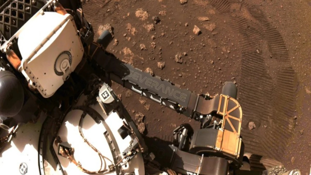 NASA's Mars Mission: The Perseverance rover covers 21 feet at the surface