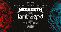 Megadeth in Chicago on July 10, 2020
