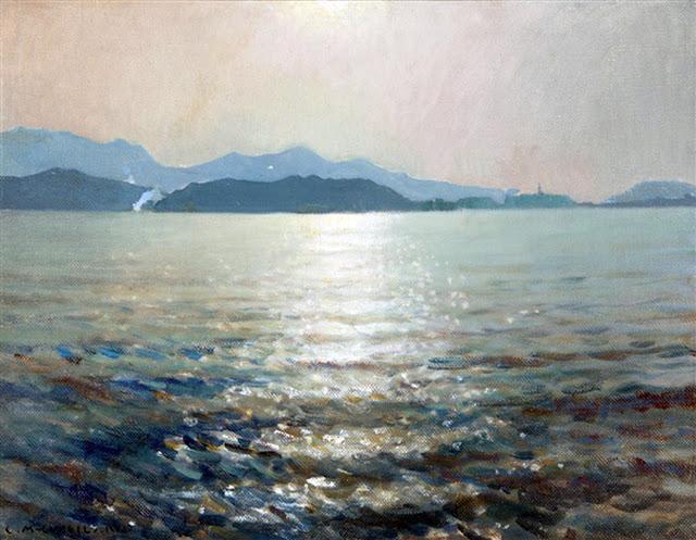 Marina al Contraluz, Enrique Martínez Cubells, Mujeres bretonas, Pintor español, Pintores Valencianos Pintor español