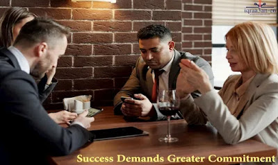 Success demands greater commitment, The privilege of working from home, Finding financial success, Honest opportunities to make money, Commitment is a vital part of your path to success