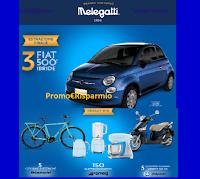 """Concorso Melegatti """"Vinci le eccellenze Italiane"""" : 163 premi (elettrodomestici Smeg, Scooter, Bici elettriche e 3 Fiat500 serie 8)"""