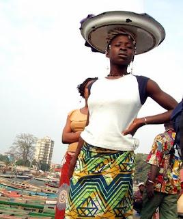 Tanzanian girl with a self confident attitude