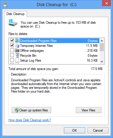 Select all you want to delete (Leftover of Pop-ups generating Adware)