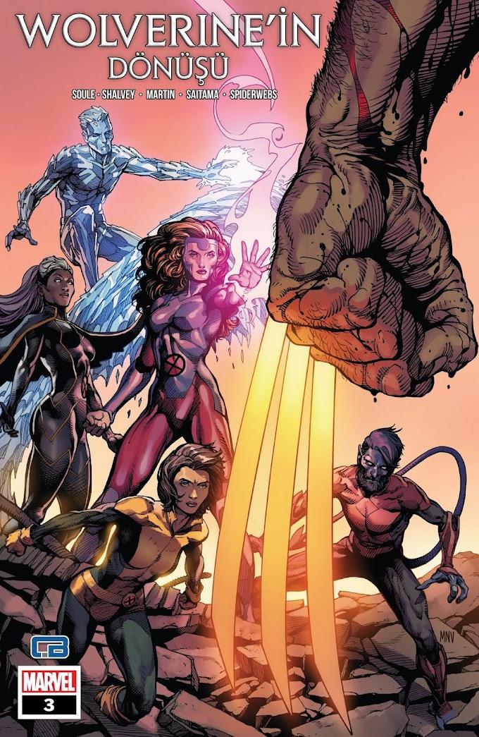 Wolverine'in Dönüşü #03 (Saitama & Spiderwebs)