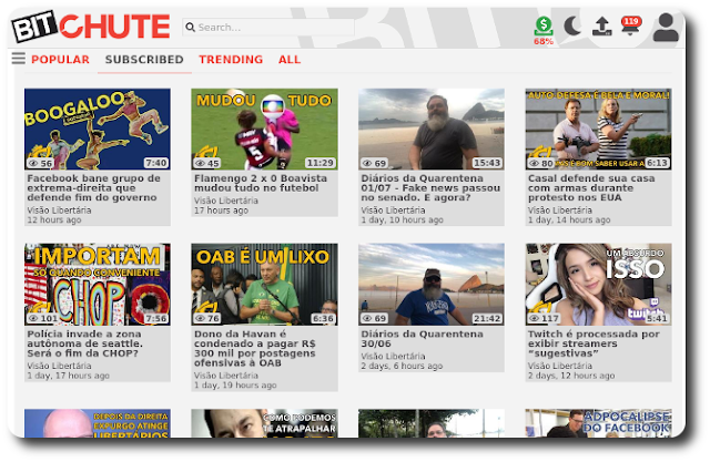 BitChute - Uma plataforma de vídeos descentralizada