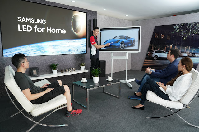 Samsung Electronics Is Collaborating With Porsche Asia Pacific