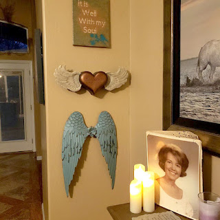 in home - flying heart urn