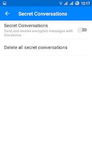 Private Chat feature in Facebook Messenger