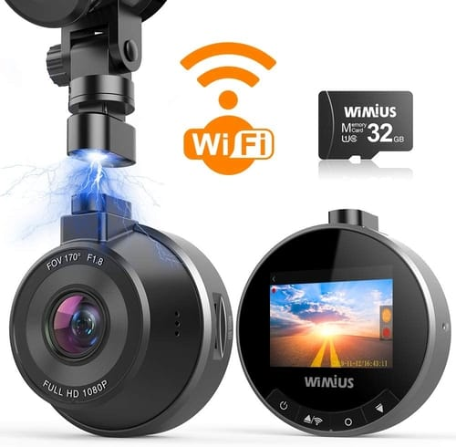 Review WIMIUS 1080p WiFi Dash Camera for Cars