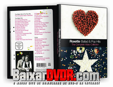 Roxette Ballad & Pop Hits (2017) DVD-R