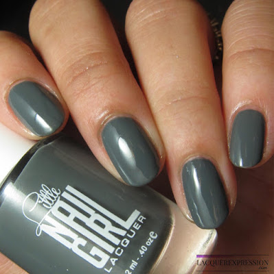nail polish swatch of Heather by Little Nail Girl Lacquer