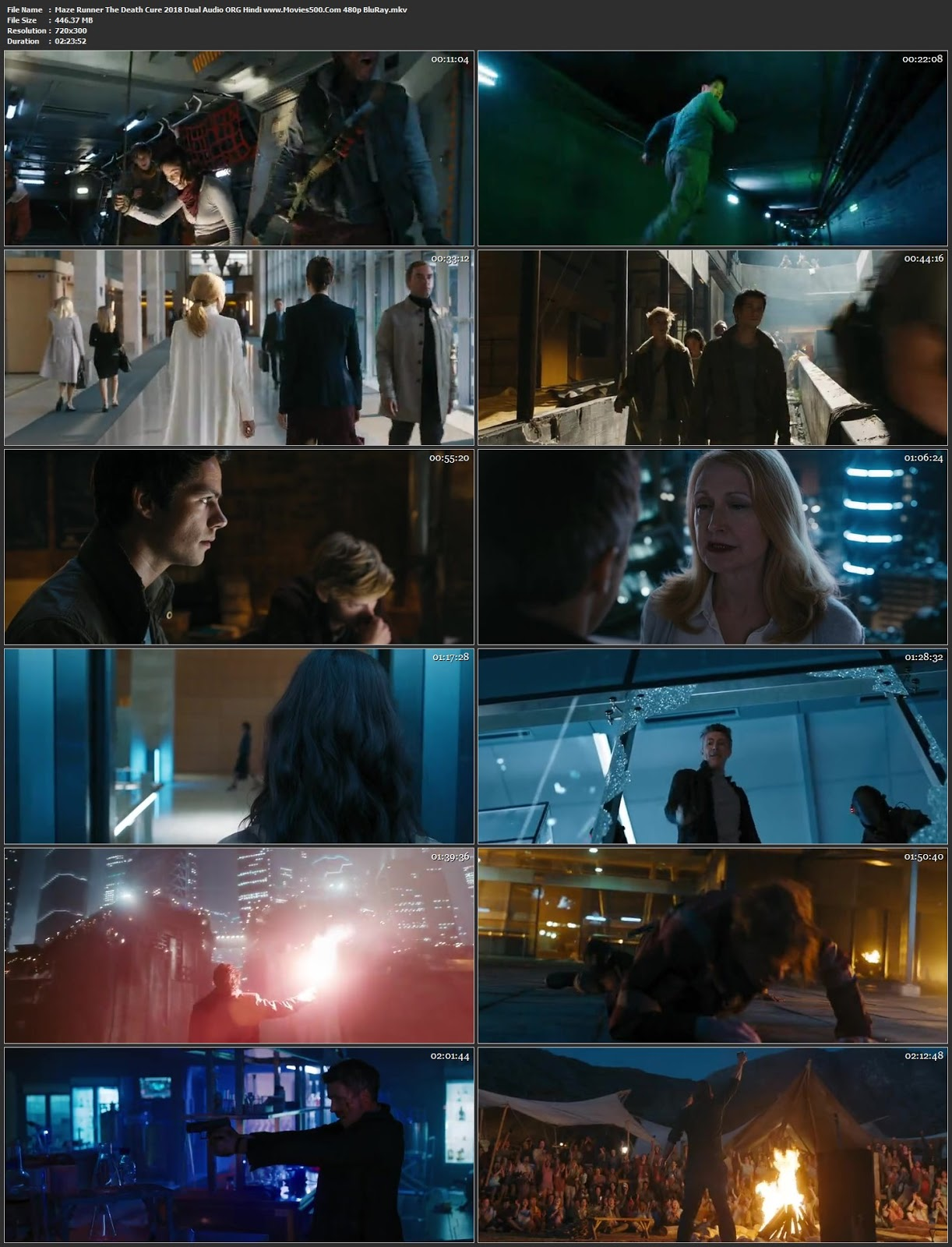 Maze Runner The Death Cure 2018 Hindi Dubbed 300MB BluRay 480p at movies500.info