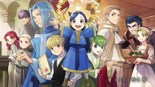 Novelas Honzuki no Gekokujou han vendido más de 4.5 millones de copias