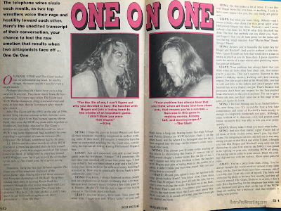 Inside Wrestling  - November 1998 -  One on One: Sting vs. The Giant