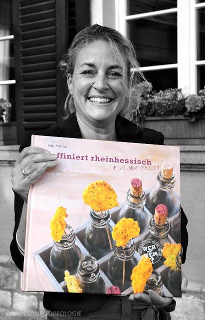 """Katja Mailahn, Autorin des Kochbuches """"raffiniert rheinhessisch"""". #MoToLogie #Rheinhessen #Kochbuch #raffiniertrheinhessisch #Mailahn"""