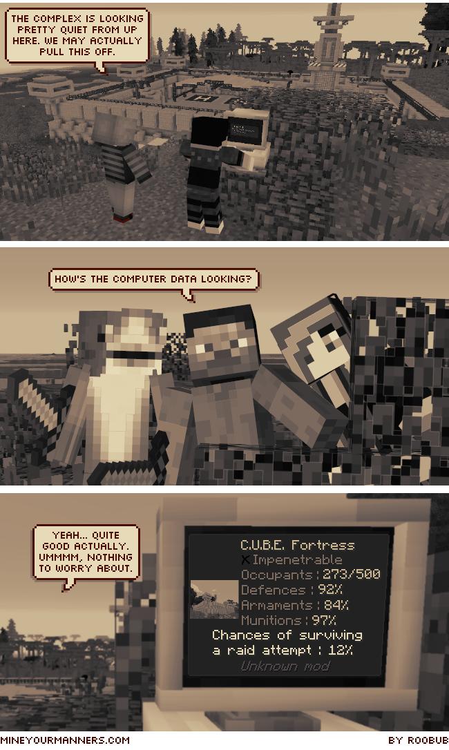 Minecraft graphic novel