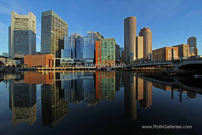 Boston downtown skyline photo images