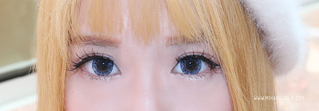 X2 diary exotion BLUE softlens review