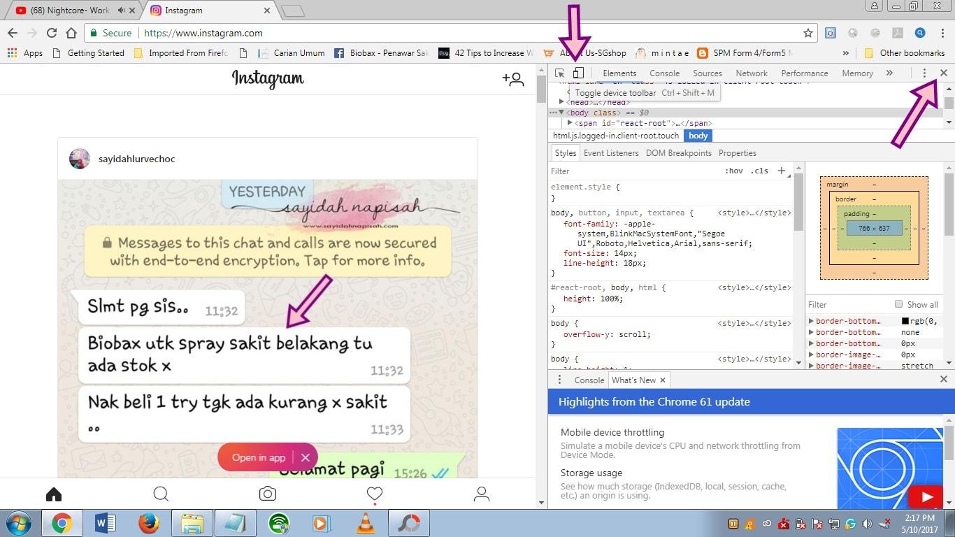 Cara Mudah Upload Gambar Instagram Dari Laptop / PC (komputer)