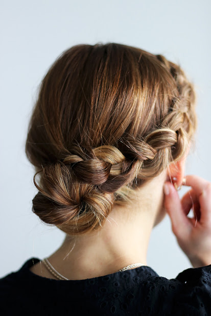 20 Three Braid Bun Pictures And Ideas On Meta Networks