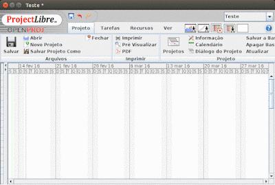 Instale o ProjectLibre 1 8 0 (Gerenciador de Projeto Livre)