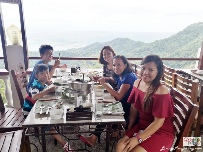 Family Outing in Tagaytay