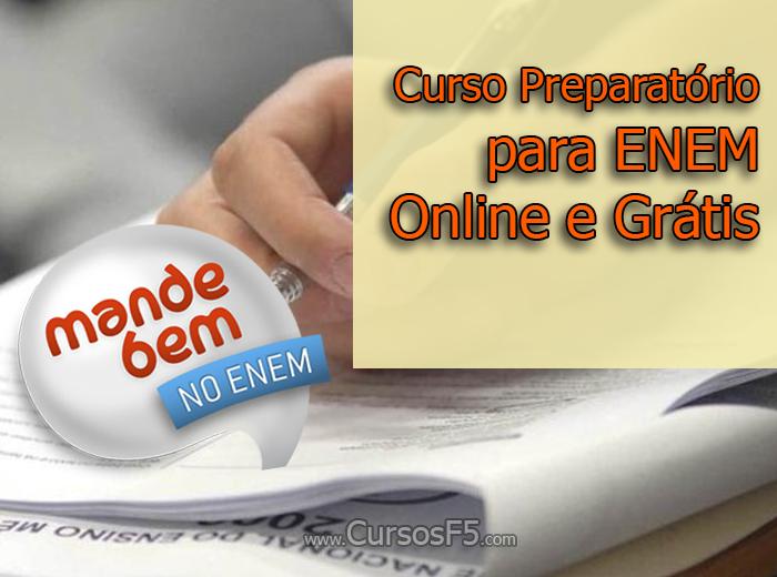 Curso Preparatório para ENEM Online e Grátis [Mande Bem no ENEM]
