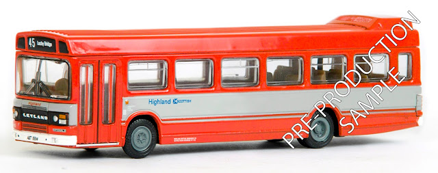 EFE PRE-PRO SAMPLE 17511 - Leyland National MkII 1 Door - Highland Scottish  Registration number AST 155W, fleet number N13 F. Working route 45 to Lochy Bridge. Scheduled for a October Release  RRP £34.50