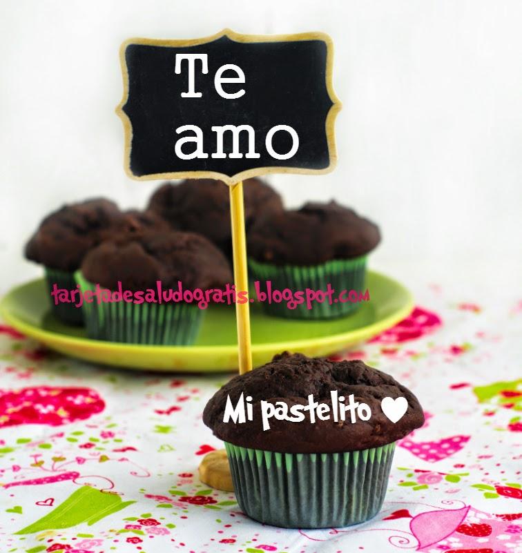 cartel con Te Amo mi pastelito