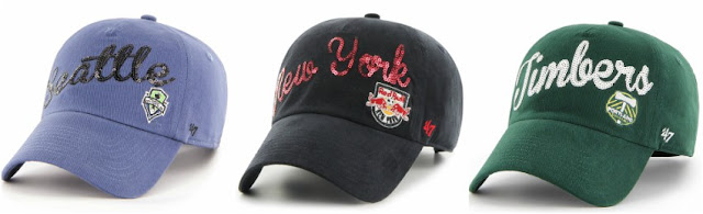 '47 MLS Sparkle Clean Up Hat $5-$15 (reg $24)