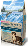 Picture of Eukanuba Naturally Wild Adult North Atlantic Salmon and Rice Dry Dog Food