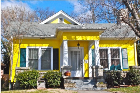pintar la fachada de la casa de color amarillo como pintar la fachada de la casa