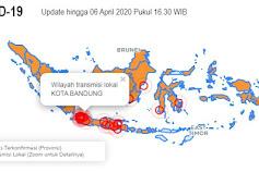 Situasi Terkini Perkembangan Coronavirus 6 April 2020