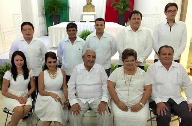 Sobornados 11 regidores del Cabildo 2015-2018 de Progreso