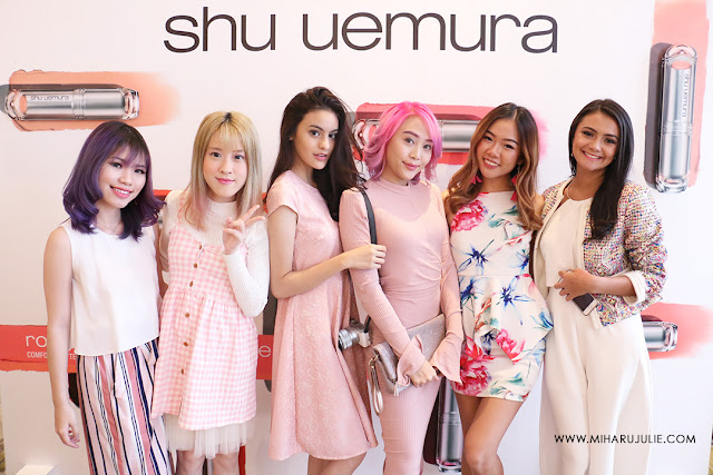 SHU UEMURA Petal Skin Foundation event
