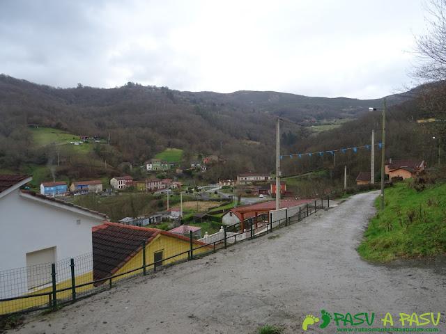 Vista de la Braña, Langreo