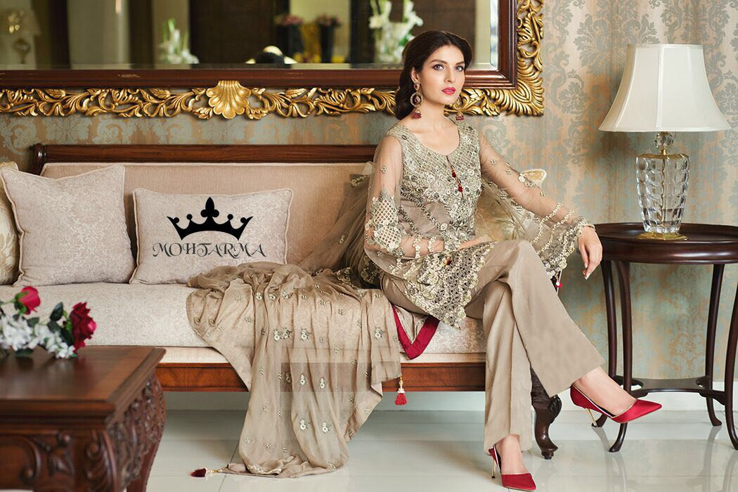 NAAZ-New Arrival Faux Georgette Dress Material