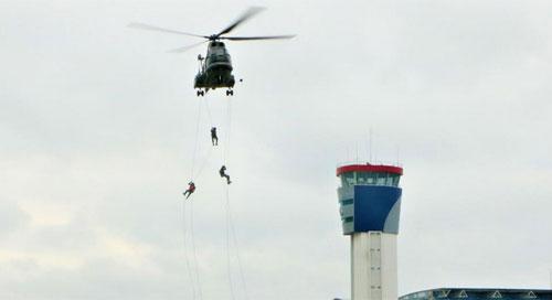Lanud Supadio Conduct Search and Rescue (SAR) Training